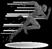 Corre y suscribete