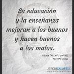 Frase Célebre Platón – Educación