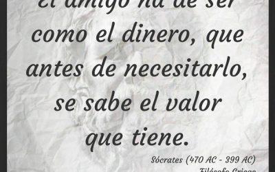 Frase Célebre Sócrates – Amistad
