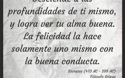 Frase Célebre Sócrates – Felicidad