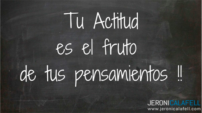 actitud positiva valor personal