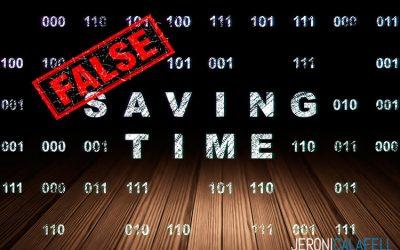 Productividad Laboral: 5 Falsos ahorradores de tiempo. Ladrones de tiempo