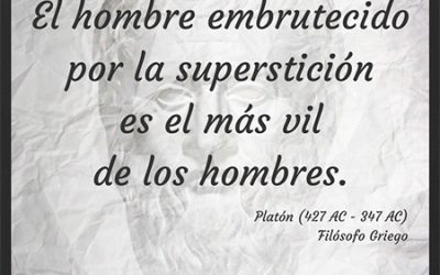 Frase célebre Platón – Superstición