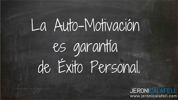 motivación interior y motivación exterior automotivación