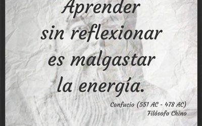 Frase célebre Confucio – Malgastar energía