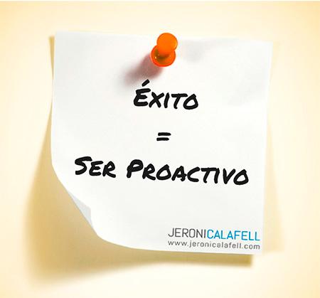 proactivo metas personales