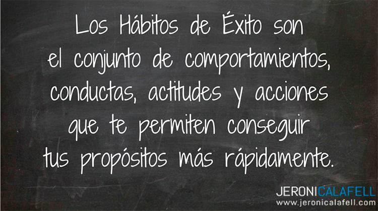 Hábitos para el éxito