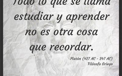 Frase célebre Platón – Recordar