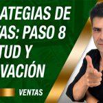 estrategias de ventas Paso 8