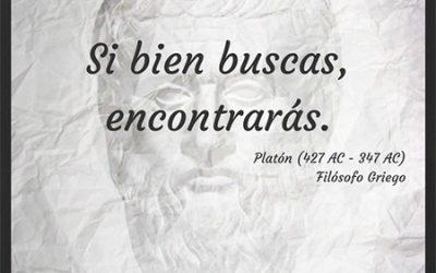 Frase célebre Platón – Buscar y Encontrar