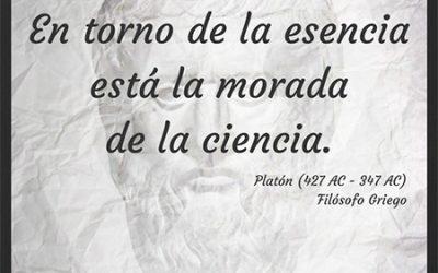 Frase célebre Platón – Esencia y ciencia