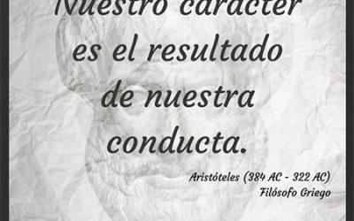 Frase célebre Aristóteles – Carácter y conducta