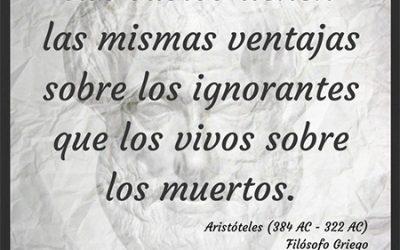 Frase célebre Aristóteles – Los sabios