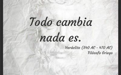Frase célebre Heráclito – Transformación